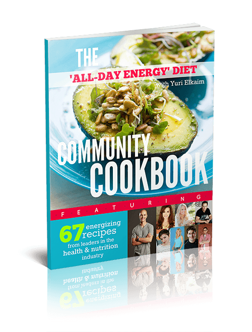 All Day Energy Diet Community Cookbook <em>by Yuri Elkaim</em>